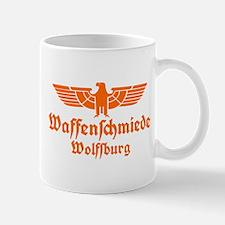 Waffenschmiede Wolfsburg Orange Mugs