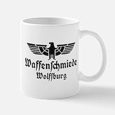 Waffenschmiede Wolfsburg Black Mugs