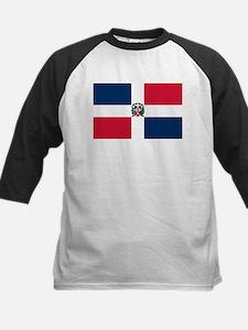 Dominican Republic Flag Kids Baseball Jersey