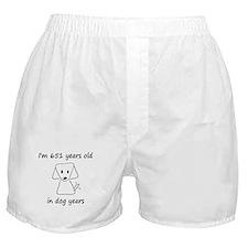 93 dog years 6 Boxer Shorts