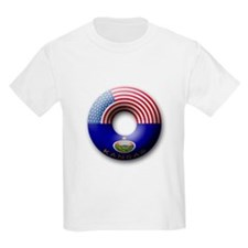 USA - Kansas Flag Donut T-Shirt