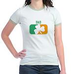 DAD (Irish) Jr. Ringer T-Shirt