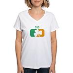 DAD (Irish) Women's V-Neck T-Shirt
