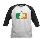 DAD (Irish) Kids Baseball Jersey