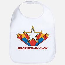 BROTHER-IN-LAW (retro-star) Bib