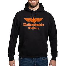 Waffenschmiede Wolfsburg Orange Hoodie