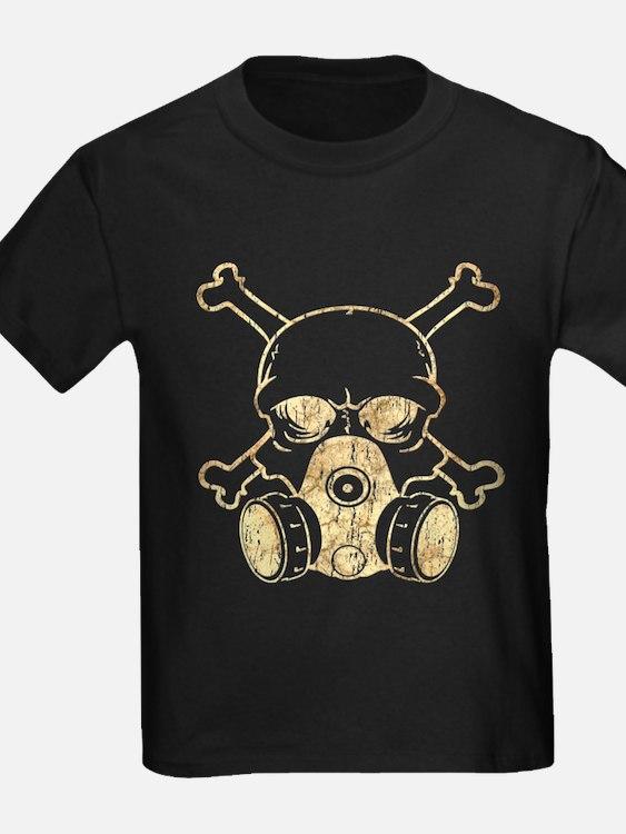 Chemical Warfare Skull Grunge T-Shirt