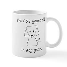 94 dog years 6 Mugs
