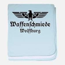 Waffenschmiede Wolfsburg Black baby blanket
