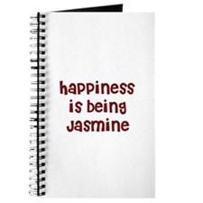 happiness is being Jasmine Journal