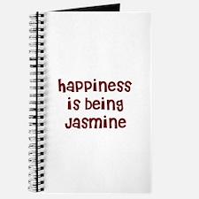 happiness is being Jasmine Journal