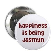 happiness is being Jasmyn Button