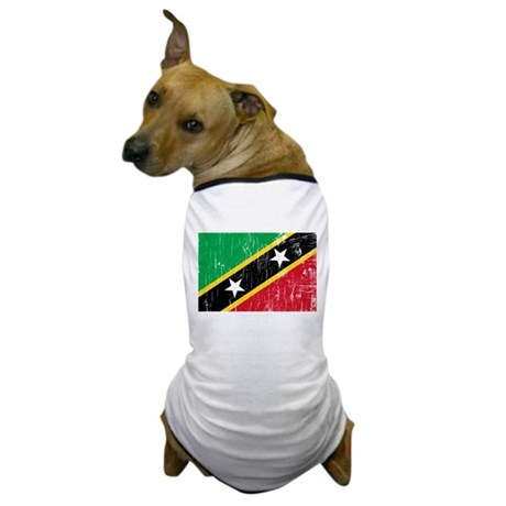 Vintage Saint Kitts and Nevis Dog T-Shirt