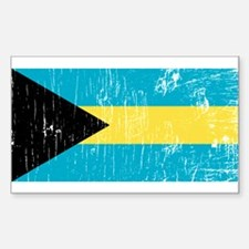 Vintage Bahamas Rectangle Decal