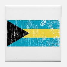 Vintage Bahamas Tile Coaster