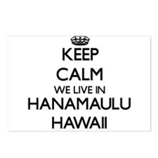 Keep calm we live in Hana Postcards (Package of 8)
