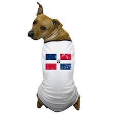 Vintage Dominican Republic Dog T-Shirt