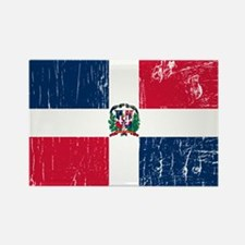 Vintage Dominican Republic Rectangle Magnet