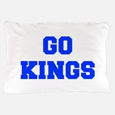 kings-Fre blue Pillow Case