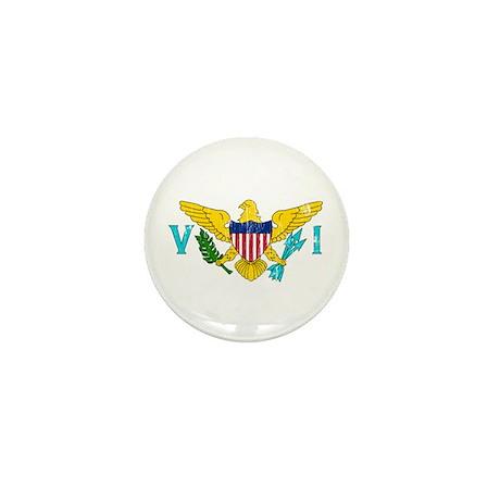 Vintage Virgin Islands Mini Button (10 pack)