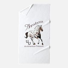 APPALOOSA AMERICAN TREASURE Beach Towel