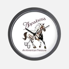APPALOOSA AMERICAN TREASURE Wall Clock