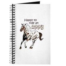 HAPPY TO RIDE AN APPY Journal
