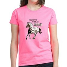 HAPPY TO RIDE AN APPY T-Shirt