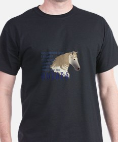 HEAVEN WITHOUT HORSES T-Shirt