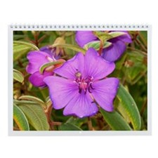 "Wildflower and ""nearly wild"" flowers Wall Calendar"