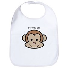 Monkey See Bib