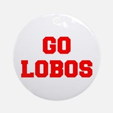 LOBOS-Fre red Ornament (Round)