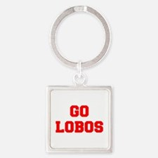 LOBOS-Fre red Keychains