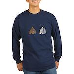 Duck Butts Long Sleeve Dark T-Shirt