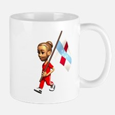 Netherlands Antilles Girl Mug