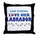 Cynthia Throw Pillow