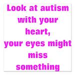 Autism awareness Square Car Magnet 3