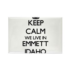 Keep calm we live in Emmett Idaho Magnets