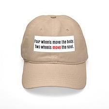 Two Wheels Move The Soul Baseball Cap
