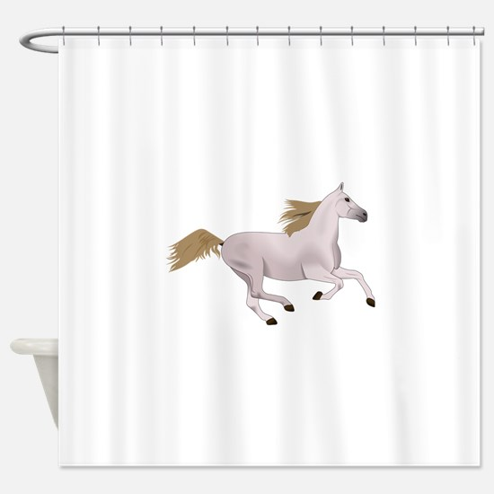 ARABIAN GALLOPING Shower Curtain