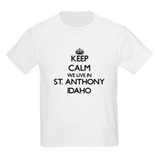 Keep calm we live in St. Anthon T-Shirt