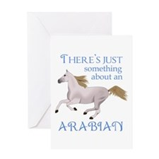 SOMETHING ABOUT AN ARABIAN Greeting Cards