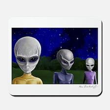 Alien Visit - Version 1 ~ Mousepad