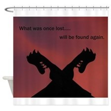 Viking Rising Shower Curtain