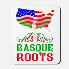 Basque American Roots Mousepad