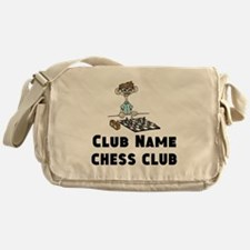 Chess Club Messenger Bag