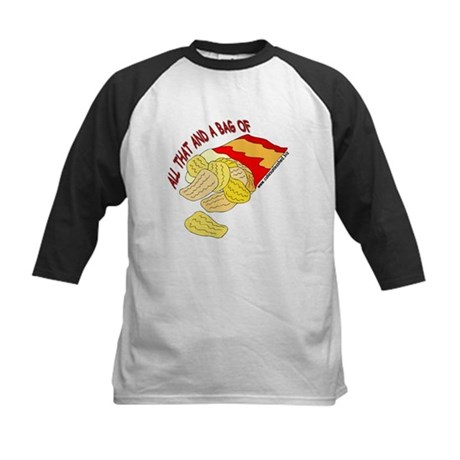 All That And A Bag Of Chips! Kids Baseball Jersey