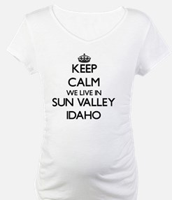 Keep calm we live in Sun Valley Shirt