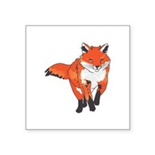 RED FOX Sticker