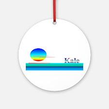 Kale Ornament (Round)